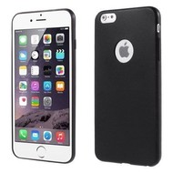 Apple Iphone 6 Plus - Tpu Siliconen Case Hoesje Zwart