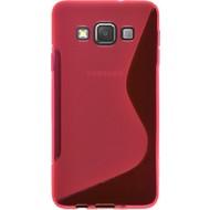 Samsung Galaxy J1 Ace - Tpu Siliconen Case Hoesje S-Style Roze