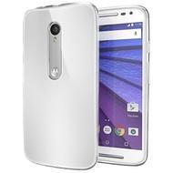 Motorola Moto G (3rd gen) 2015 - Tpu Siliconen Case Hoesje Transparant