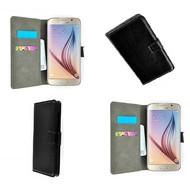 Samsung Galaxy S6 - Wallet Bookstyle Case Lederlook Zwart