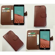 Lg Bello 2 - Wallet Bookstyle Case Lederlook Bruin