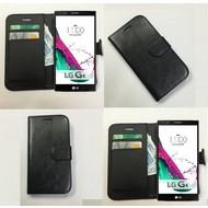 Lg G4 Beat - Wallet Bookstyle Case Lederlook Zwart