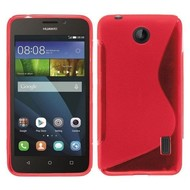 Huawei Y635 - Tpu Siliconen Case Hoesje S-Style Roze