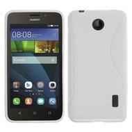 Huawei Y635 - Tpu Siliconen Case Hoesje S-Style Wit