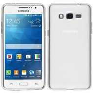 Samsung Galaxy Grand Prime VE - Tpu Siliconen Case Hoesje Transparant