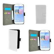 LG G2 - Wallet Bookstyle Case Lederlook Wit
