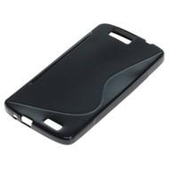 Huawei Ascend G7 - Tpu Siliconen Case Hoesje S-Style Zwart