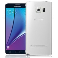 Samsung Galaxy Note 5 - Pvc Siliconen Case Hoesje Transparant