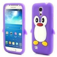 Samsung Galaxy Trend Lite (Fresh) - Tpu Siliconen Case Hoesje Pinguïn Paars