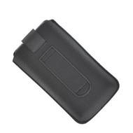 Samsung Galaxy Trend - Insteekhoesje Cover Lederlook Zwart