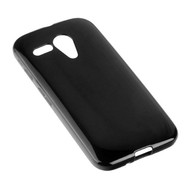 Motorola Moto G - Tpu Siliconen Case Hoesje Zwart