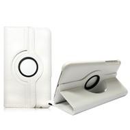 Samsung Galaxy Tab S (8.4) - Hoes 360° Draaibare Case Lederlook Wit