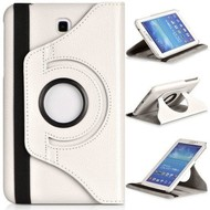 Samsung Galaxy Tab A (8.0) - Hoes 360° Draaibare Case Wit