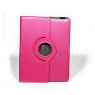 Apple iPad Mini 4 - Hoes 360° Draaibare Case Lederlook Roze