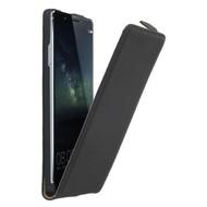 Huawei Mate S - Flipcase Cover Hoesje Leder Zwart