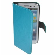 Samsung Galaxy S3 Mini - Wallet Bookstyle Case Turquoise
