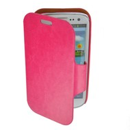Samsung Galaxy S3 - Wallet book Case/Cover Beril-Donkerroze