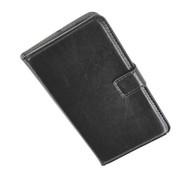 Samsung Galaxy S5 Plus - Wallet Bookstyle Case Lederlook Zwart