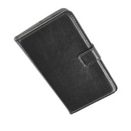 Huawei Ascend P6 - Wallet Bookstyle Case Lederlook Zwart
