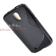 Samsung Galaxy S4 - Tpu Siliconen Case Hoesje S-Style Zwart