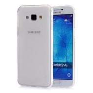 Samsung Galaxy A8 - Pvc Siliconen Case Hoesje Transparant