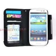 Samsung Galaxy S4 VE - Wallet Bookstyle Case Uitneembaar Hoesje Zwart