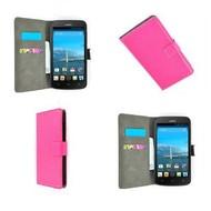 Huawei Ascend Y540 - Wallet Bookstyle Case Lederlook Roze