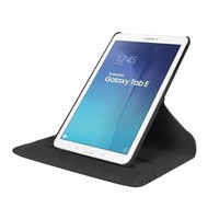 Samsung Galaxy Tab E (9.6) Tablethoes 360° Draaibare Case Zwart