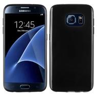 Samsung Galaxy S7 - Siliconen Case Hoesje Zwart
