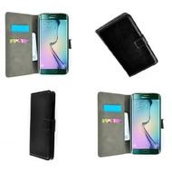 Samsung Galaxy S7 Edge - Wallet Bookstyle Case Lederlook Zwart