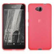 Microsoft Lumia 650 - Tpu Siliconen Case Hoesje Roze