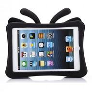 Apple iPad Mini 4 Beschermhoes voor kinderen vlinder (zwart)