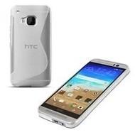 HTC One M9s - Tpu Siliconen Smartphone Case Hoesje Transparant