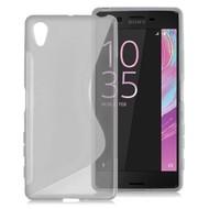 Sony Xperia XA - Tpu Siliconen Smartphone Case Hoesje S-Style Transparant