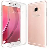 Samsung Galaxy C5 2016 - Tpu Siliconen Smartphone Case Hoesje Transparant
