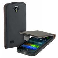 Huawei Y5 4g - Flipcase Cover Smartphone Hoesje Leder Zwart