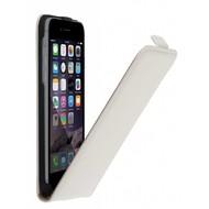 Apple iPhone 7 - Smartphonehoesje Leder Flipcase Cover Wit