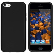Apple iPhone 5C - Smartphone hoesje Tpu Siliconen Case Zwart