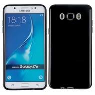 Samsung Galaxy J7 2016 - Smartphone hoesje Tpu Siliconen Case Zwart