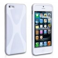 Apple iPhone SE - Smartphonehoesje Tpu Siliconen Case Hoesje X-Style Wit