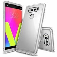 LG V20 - Smartphone Hoesje Tpu Siliconen Case Transparant