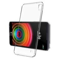 LG X Power - Smartphone Hoesje Tpu Siliconen Case Transparant