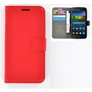 Huawei Y560 - Smartphonehoesje Wallet Bookstyle Case Lederlook Rood