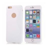 Apple iPhone SE - Smartphonehoesje Tpu Siliconen Case Hoesje S-Style Wit
