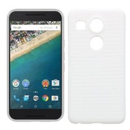 Lg Nexus 5X - Smartphone Hoesje Tpu Siliconen Case Wit
