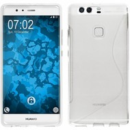 Huawei P9 Plus - Smartphone Hoesje Tpu Siliconen Case S-Style Transparant