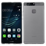 Huawei P9 Plus - Smartphone Hoesje Tpu Siliconen Case Transparant