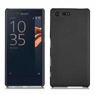 Sony Xperia X Compact - Smartphone Hoesje Tpu Siliconen Case Zwart