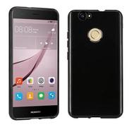 Huawei Nova - Smartphone Hoesje Tpu Siliconen Case Zwart