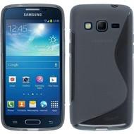 Samsung Galaxy J3 Pro - Smartphone Hoesje Tpu Siliconen Case Hoesje S-Style Zwart